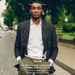 Zelos, God of Rivalry
