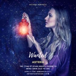 Asteria, Titaness of Stars